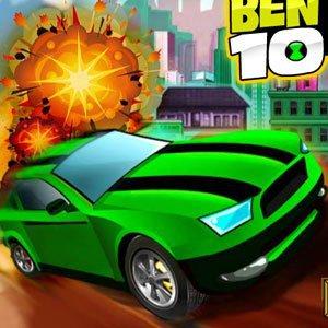 Ben 10 Bolt Car Game