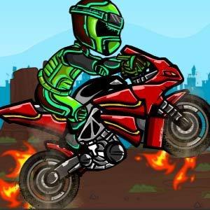 Biker Burnout Game