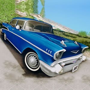 Chevrolet Bel Air Puzzle