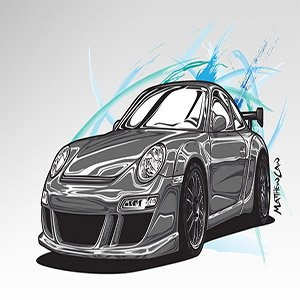 Porsche Cartoon Edition
