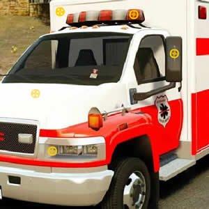 Ambulance Trucks Hidden Tires