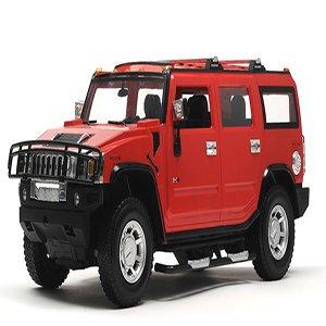 Hummer H2 Red Car