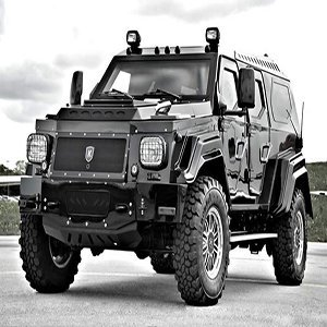 Knight Armored Jeep Jigsaw