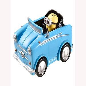 Minions Toy Blue Car