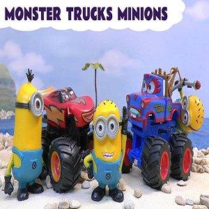 Monster Trucks Minions