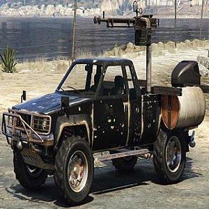 Rebel Truck Jigsaw